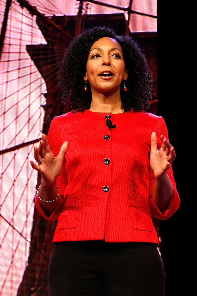 Teresa Kay-Aba Kennedy speaking at National Association of Professional Women (NAPW) Conference in New York - April 25, 2014