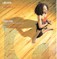 Teresa Kay-Aba Kennedy featured in Black Enterprise - January 2004