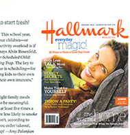 Teresa Kay-Aba Kennedy contributes to Hallmark magazine - Sept/Oct 2006