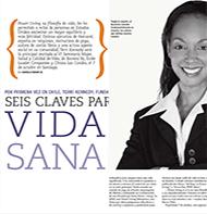 Teresa Kay-Aba Kennedy featured in El Mercurio in Chile