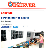 Teresa Kay-Aba Kennedy featured in the Jamaica Observer