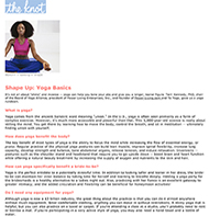 Teresa Kay-Aba Kennedy contributes to The Knot - January 2008