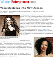 Teresa Kay-Aba Kennedy featured in Women Entrepreneur