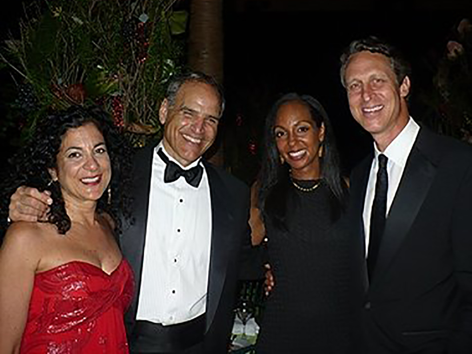 Teresa Kay-Aba Kennedy, Dr. Mark Hyman and others at the HealthCorps Green Garden Gala in New York - April 20, 2009