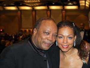 Quincy Jones and Sheila Kennedy Bryant