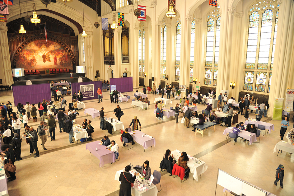 1st Annual Holistic Wellness Expo at The City College of New York - April 28, 2012