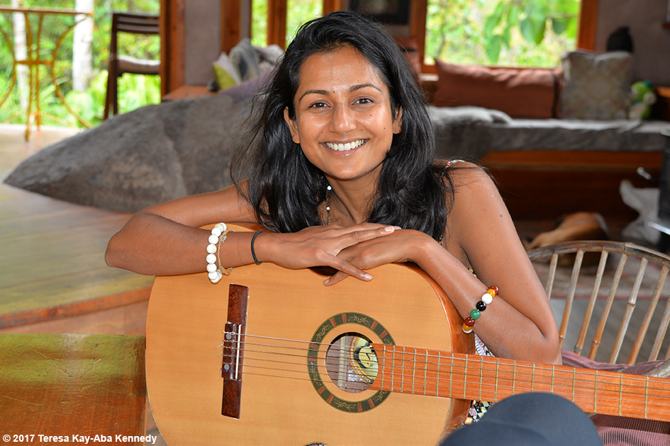 Dr. Shalika Shetty at the Vortex Founder's Retreat at the Finca Mia Retreat Centre in Costa Rica - April 12, 2017