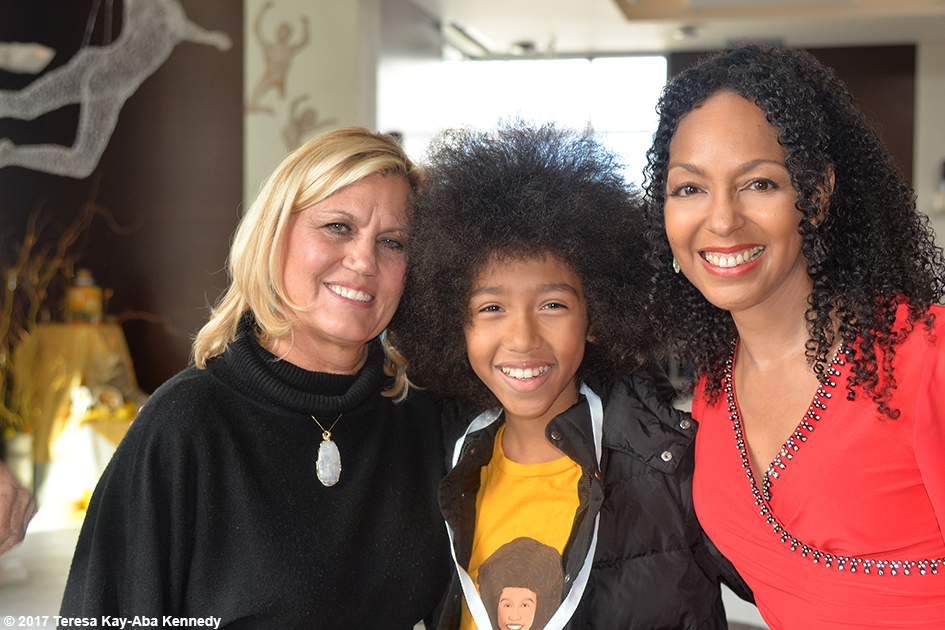 Gretchen Robinson, Tabay Atkins and Teresa Kay-Aba Kennedy at Lead With Love Conference in Aspen, Colorado - October 26, 2017