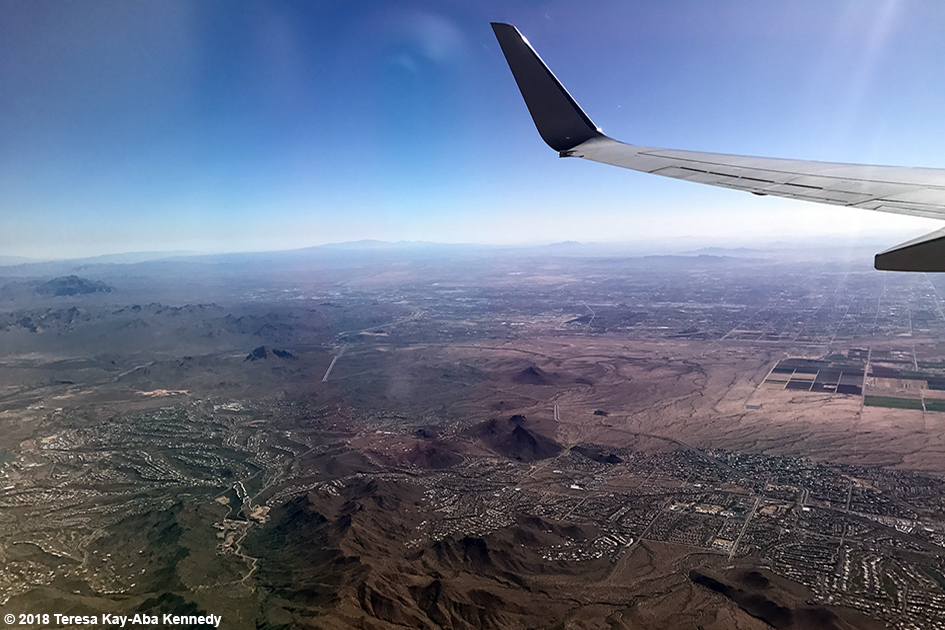 Flying into Arizona – February 7, 2018