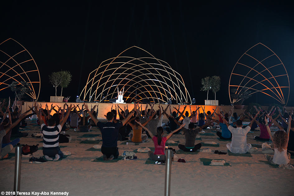 XYoga Dubai Festival on Kite Beach - March 17, 2018