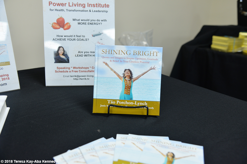 Table for Teresa Kay-Aba Kennedy at the Berean Community & Family Life Center Annual My sister, My Friend Women's Empowerment Conference & Health Fair in Brooklyn, NY - March 24, 2018