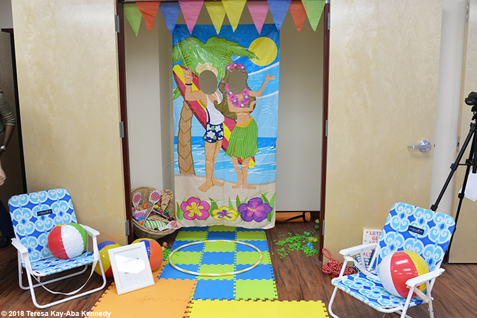 Play Area for Teresa Kay-Aba Kennedy's Play Up Your Power! session at the Berean Community & Family Life Center Annual My sister, My Friend Women's Empowerment Conference & Health Fair in Brooklyn, NY - March 24, 2018