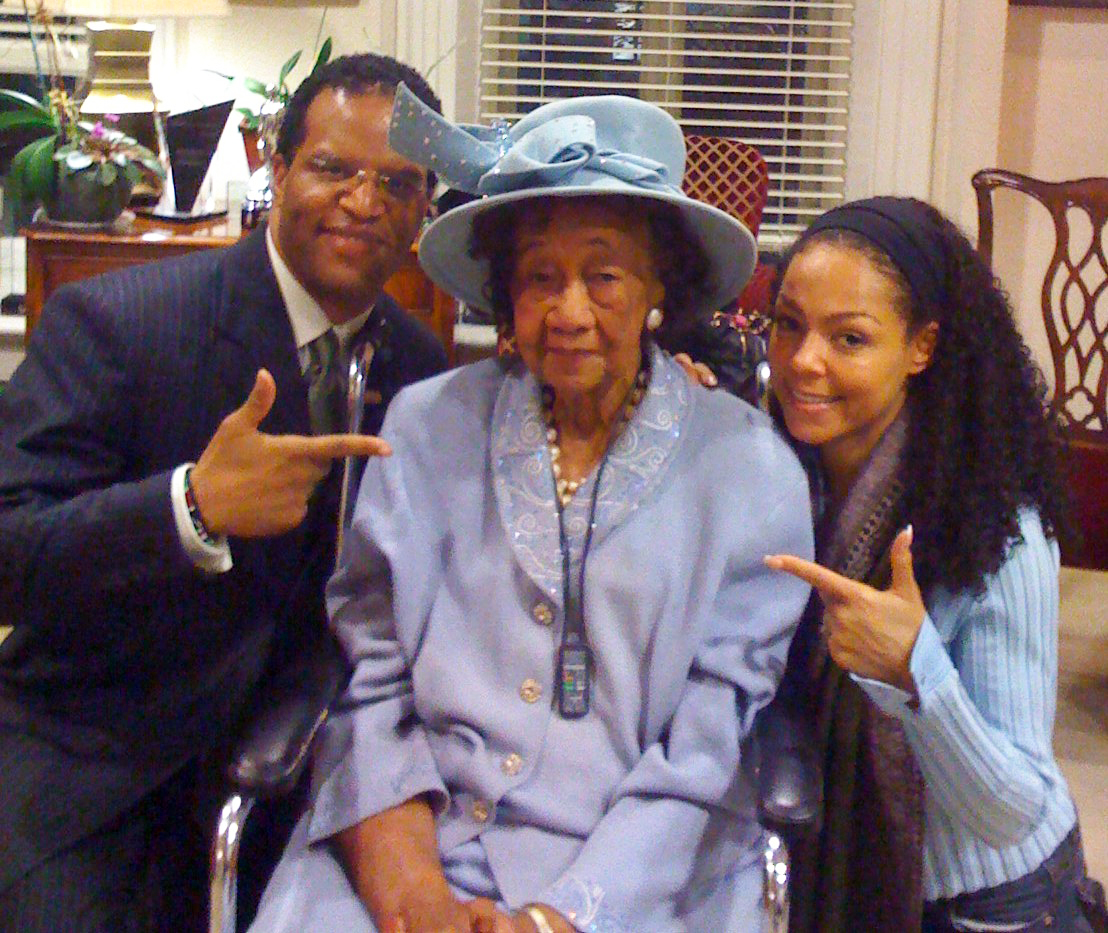 John Bryant, Dr. Dorothy Height and Sheila Kennedy Bryant