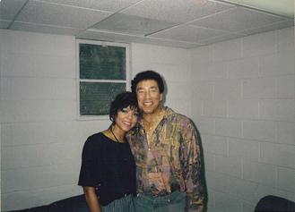 Sheila Kennedy and Smokey Robinson