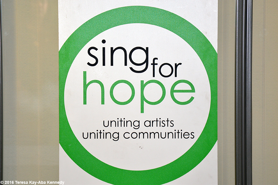 Sing For Hope event with Young Global Leaders in New York – May 25. 2016
