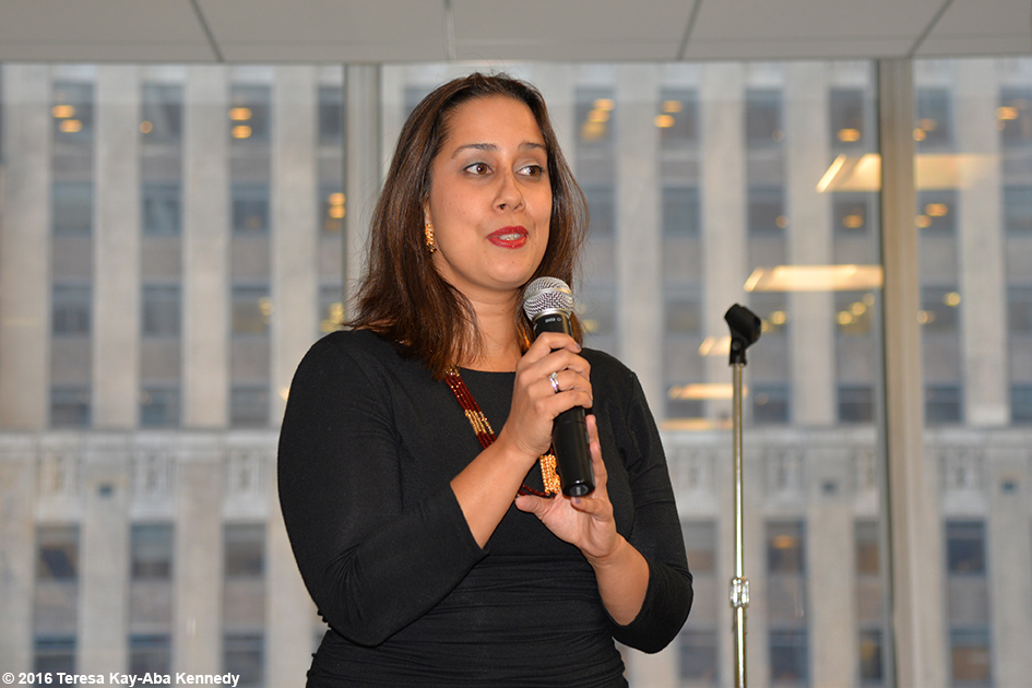 Sing For Hope Co-Founder Monica Yunas at Young Global Leader gathering in New York – May 25, 2016