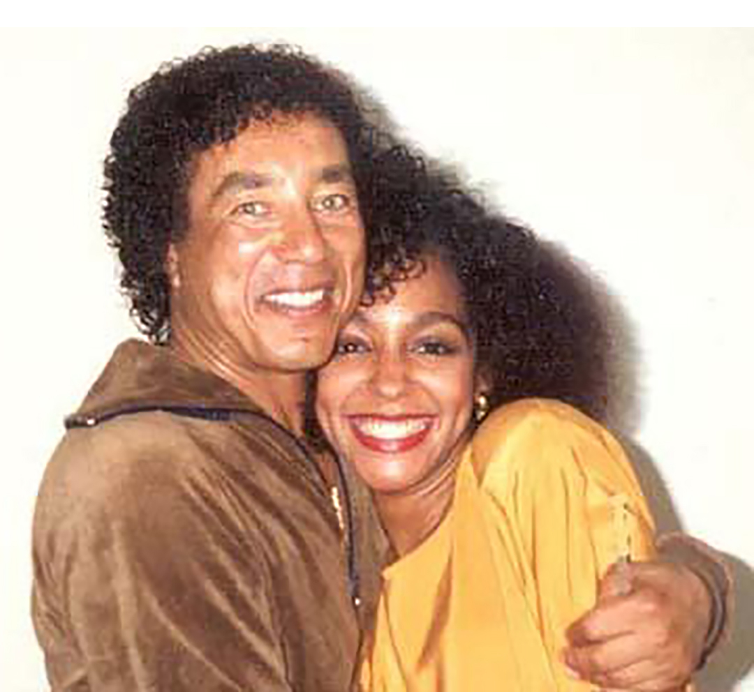 Smokey Robinson and Teresa Kay-Aba Kennedy