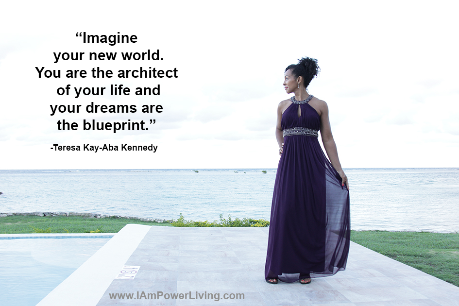 Teresa Kay-Aba Kennedy featured in Power Living quote card