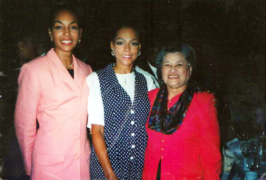 Teresa Kay-Aba Kennedy, Sheila Kennedy and Azira Hill