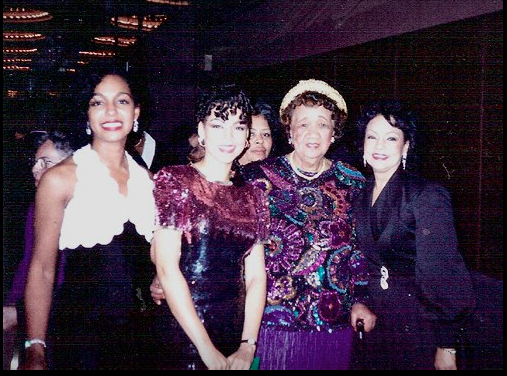 Teresa Kay-Aba Kennedy, Sheila Kennedy, Dr. Dorothy Height and Janie Sykes-Kennedy