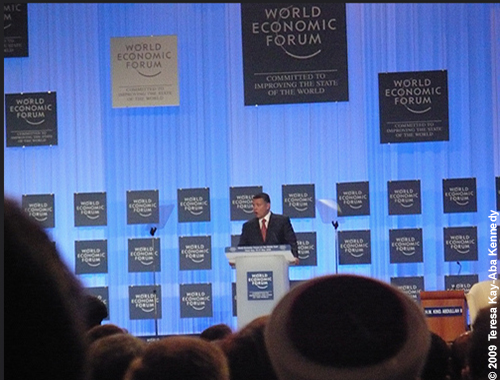 King Abdullah II at the World Economic Forum on the Middle East in Jordan - May 2009