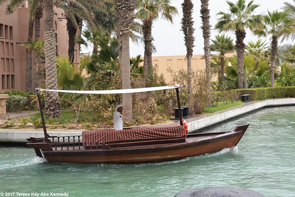 View outside of Mina A' Salam Resort in Dubai – February 13, 2017