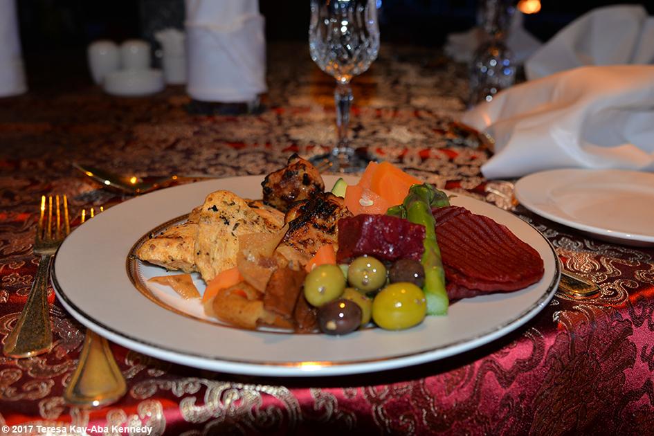 Dinner at Bab Al Shams Desert Resort in Dubai during World Government Summit – February 13, 2017
