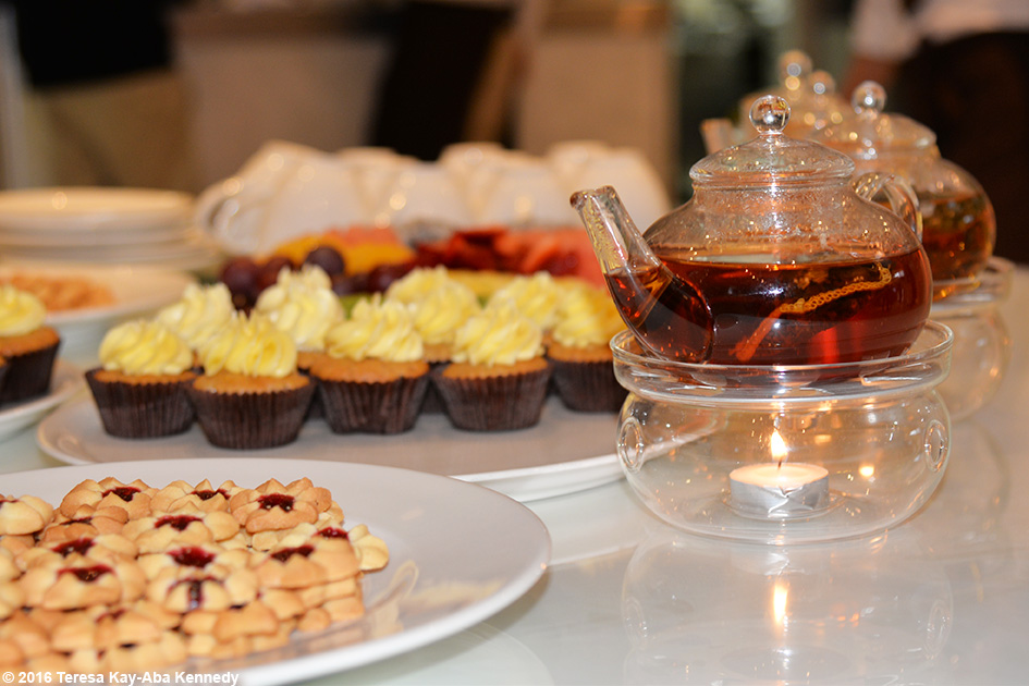 Tea and Desserts at Al Barari's Heart & Soul Spa during XYoga Dubai Festival – February 17, 2016