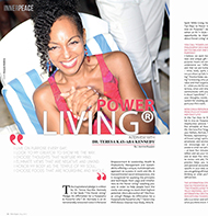 Teresa Kay-Aba Kennedy featured in FitNStyle Magazine in Lebanon