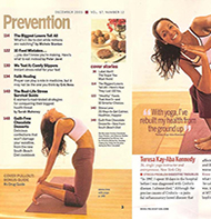 Teresa Kay-Aba Kennedy featured in Prevention Magazine