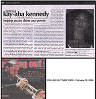 Teresa Kay-Aba Kennedy featured in Rolling Out