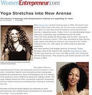 Teresa Kay-Aba Kennedy featured in Women Entrepreneur