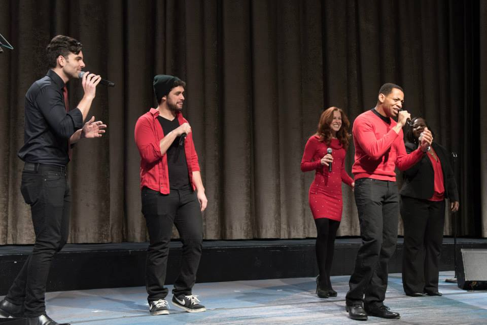 """""""Piece Of My Heart"""" performance at the American Heart Association Go Red Luncheon at the NY Hilton Midtown - March 3, 2015"""