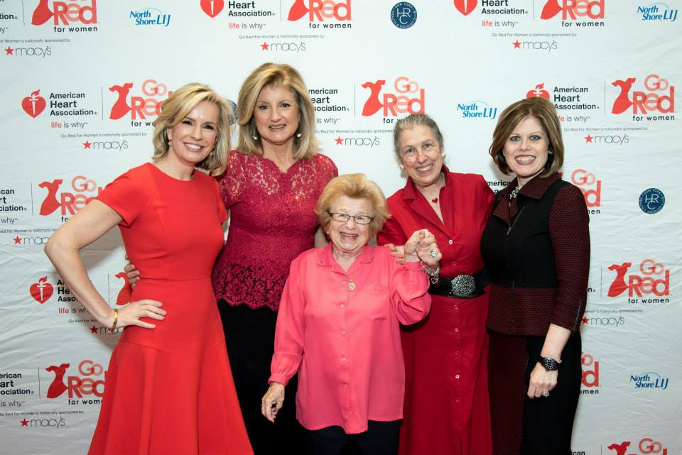 American Heart Association Go Red Luncheon at the NY Hilton Midtown - March 3, 2015