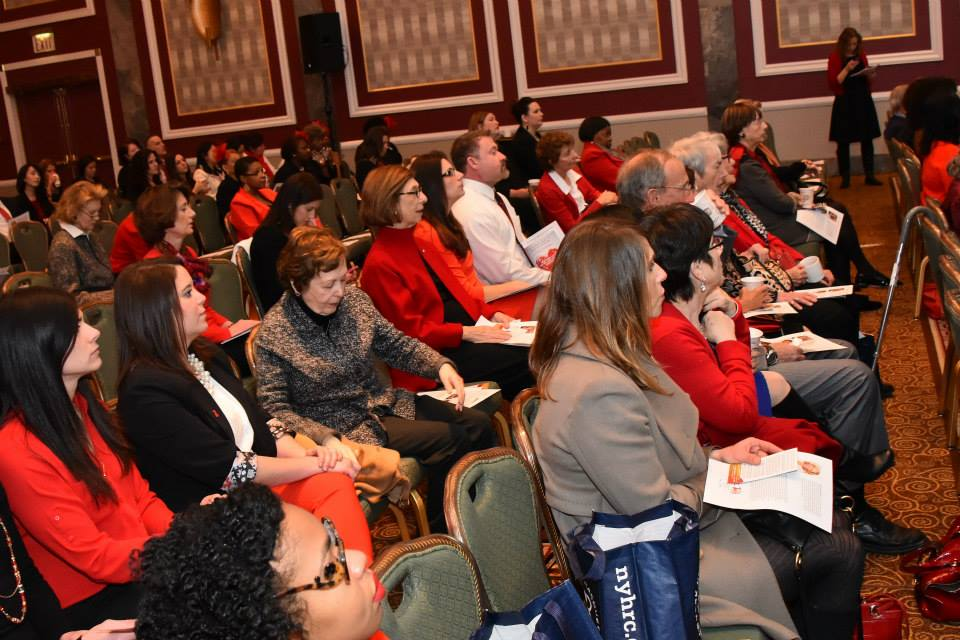 American Heart Association Go Red Educational Panel at the NY Hilton Midtown - March 3, 2015