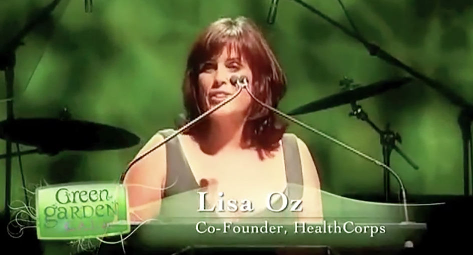 Lisa Oz at the HealthCorps Green Garden Gala in New York - April 20, 2009