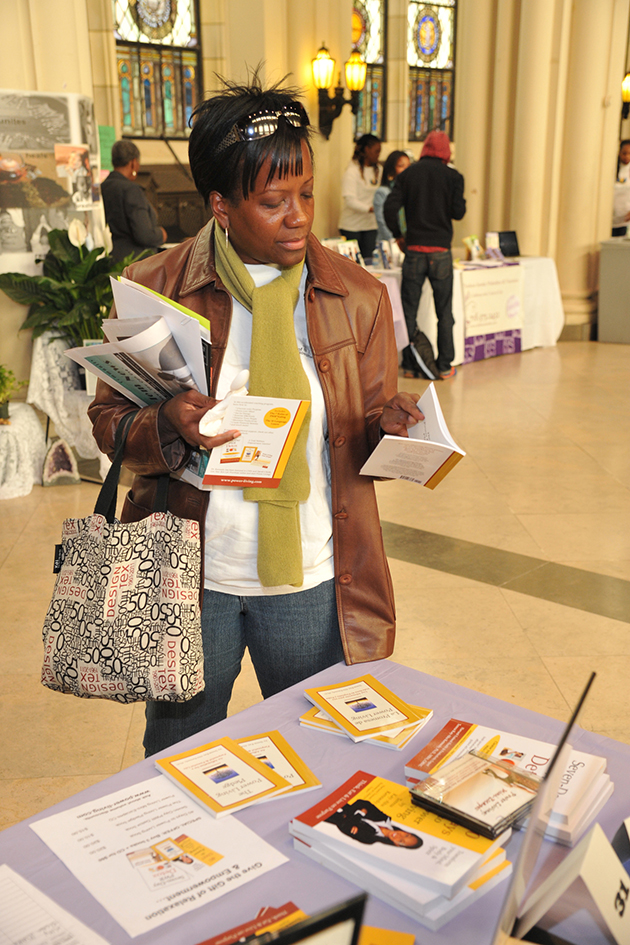 Teresa Kay-Aba Kennedy at the 1st Annual Holistic Wellness Expo at The City College of New York - April 28, 2012