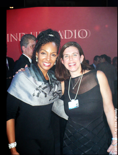 Teresa Kay-Aba Kennedy and Kristen Forbes at the World Economic Forum Annual Meeting in Davos, Switzerland - January 2010