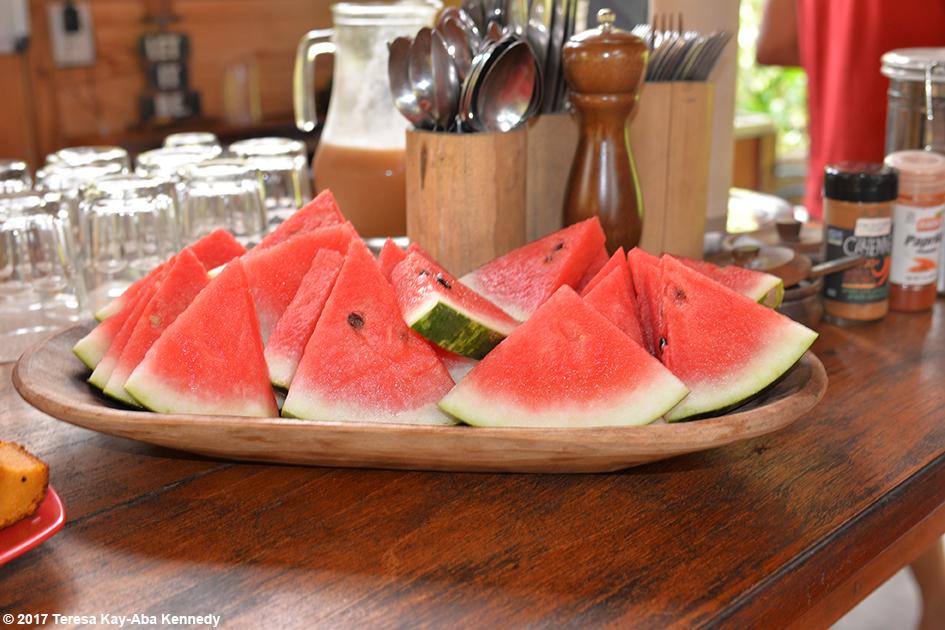Food at Finca Mia Retreat Centre in Costa Rica for the Vortex Founder
