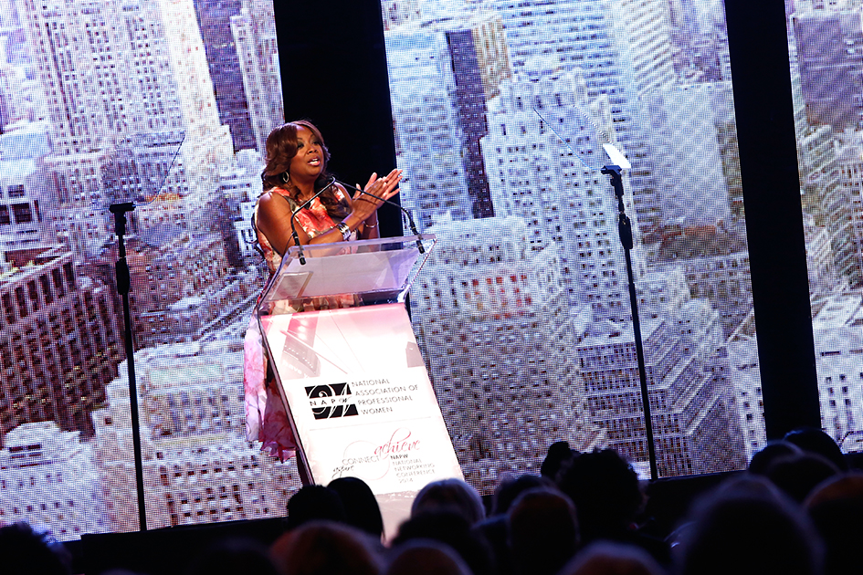 Star Jones hosting the National Association of Professional Women (NAPW) 2014 Conference in New York - April 25, 2014