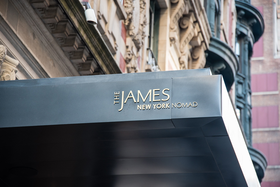 The James Hotel NoMad in New York - October 3, 2017