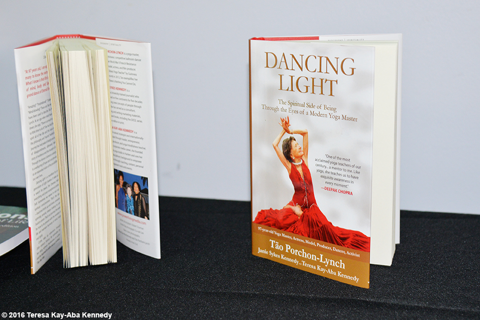 Dancing Light book at ClubFit in Briarcliff Manor, NY – June 11, 2016