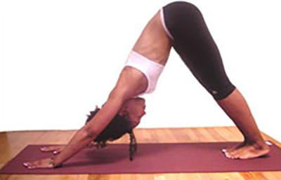 Teresa Kay-Aba Kennedy practicing yoga at the Ta Yoga House in Harlem