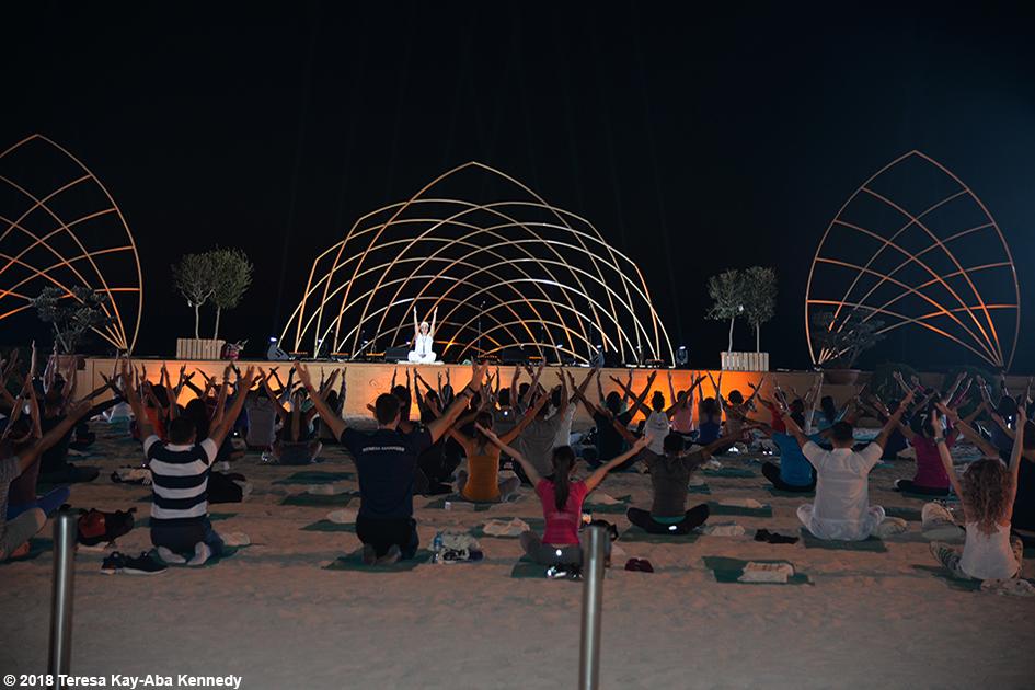 XYoga Dubai Festival on Kite Beach - March 17, 2018