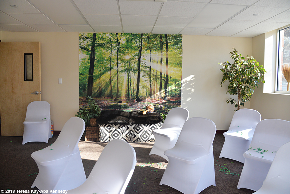 Meditation Room for the Berean Community & Family Life Center Annual My Sister, My Friend Women