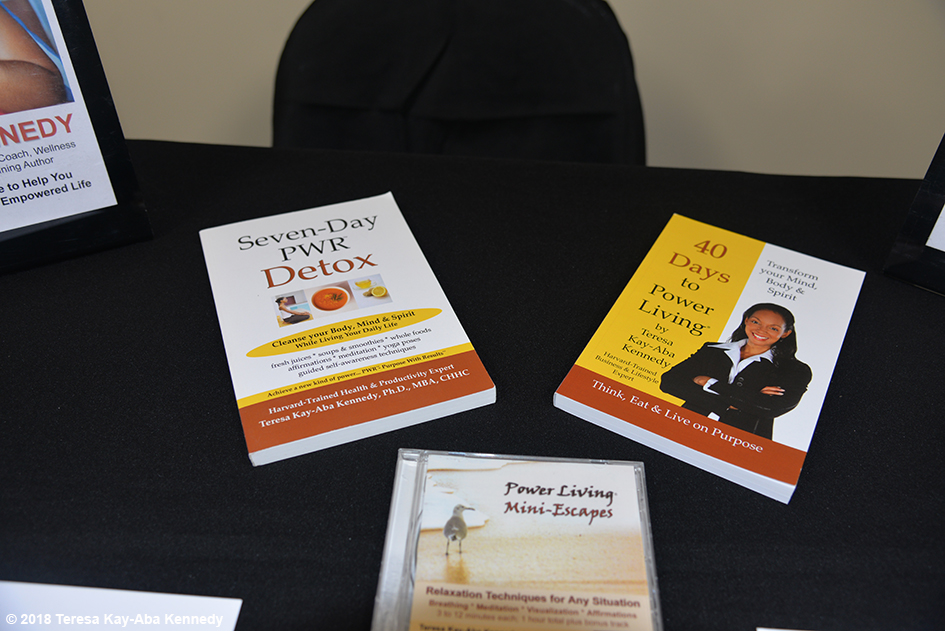 Table for Teresa Kay-Aba Kennedy at the Berean Community & Family Life Center Annual My sister, My Friend Women