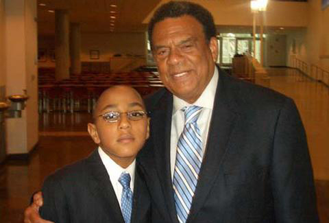 Daniel Kennedy and Ambassador Andrew Young