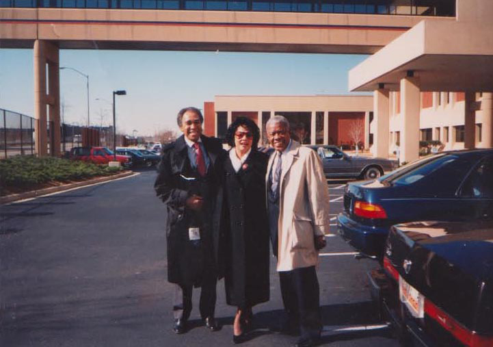 Dr. James Scott Kennedy, Janie Sykes-Kennedy and Jesse Hill, Jr. in Atlanta, GA