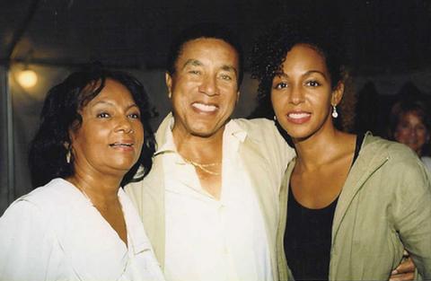 Janie Sykes-Kennedy, Smokey Robinson and Teresa Kay-Aba Kennedy