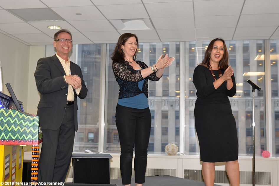 Performance with Sing For Hope Co-Founders during gathering with Young Global Leaders in New York – May 25, 2016
